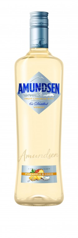 Amundsen vodka Pineapple & Coco 15% 1l