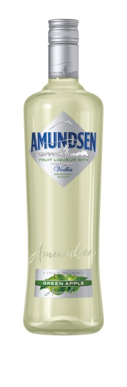 Amundsen vodka  green apple 15% 1l