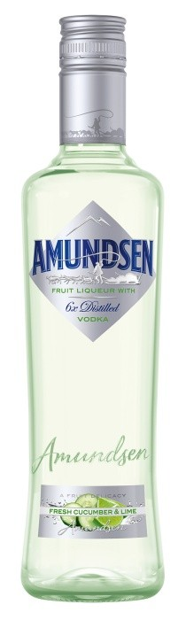 Amundsen vodka  Cocumber & lime 15% 1l
