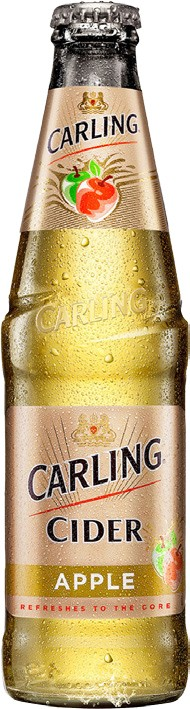 Carling cider apple 0,3l sklo NEVR. LAHEV