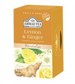 Čaj Ahmad Lemon & Ginger 20 x 2g (6)