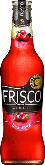 Frisco  Brusinka 0,33l SKLO