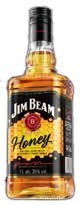 Jim  Beam  Honey 35% 1l (8)