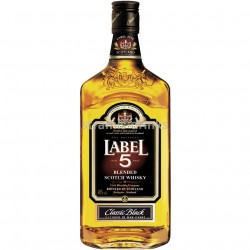Label 5 scotch whisky 40% 0,7l