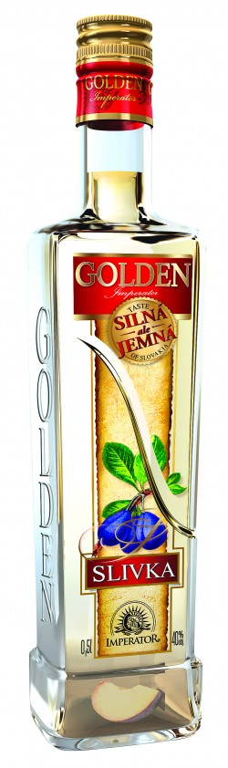 Slivka Golden 40% 0,5l /Imperator - Stock/