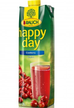 Rauch Happy Day brusinka 1l