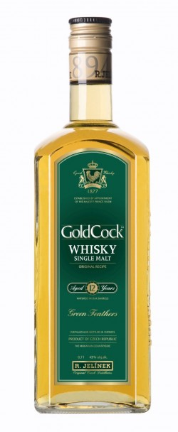 Gold Cock 12 year 43% 0,7l /Jel./
